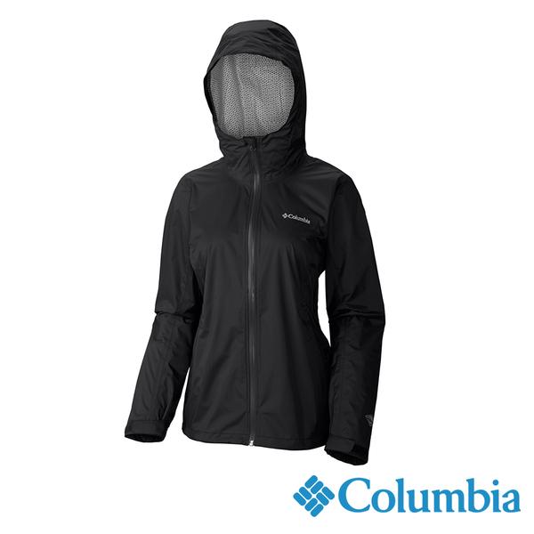 Columbia 女 OTEvap2.5L防水外套-黑色 URR20230BK【GO WILD】