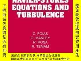 二手書博民逛書店【罕見】Navier-stokes Equations And Turbulence (encyclopedia