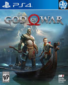 PS4-二手片 God of War 戰神 中文版 PLAY-小無電玩