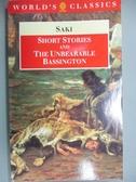 【書寶二手書T7/原文小說_MCX】Short Stories and the Unbearable Bassingto