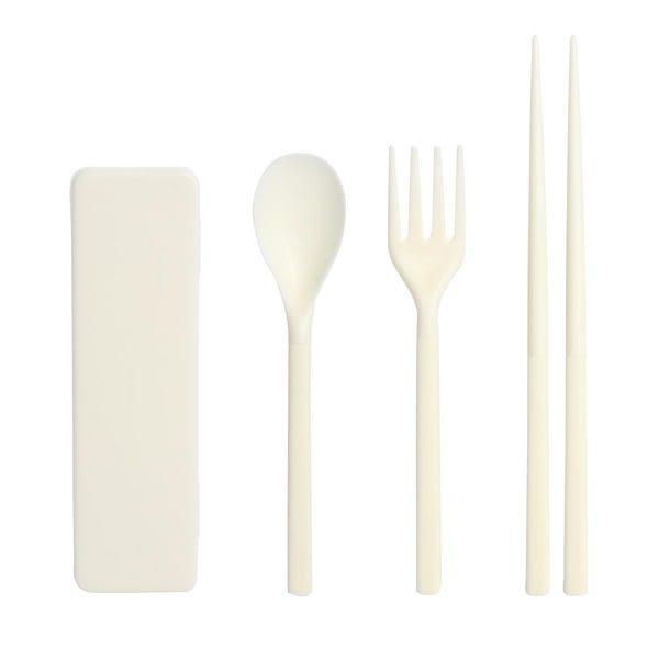 【a-liFe】折疊餐具組-白 (現貨)
