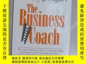 二手書博民逛書店英文原版罕見The Business Coach by Brad