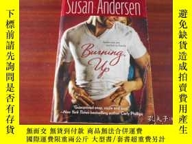 二手書博民逛書店BURNING罕見UP, SUSAN ANDERSENY1986