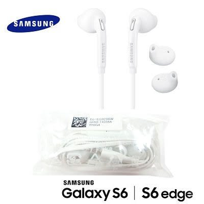 SAMSUNG (扁線型) S6 S6 Edge 原廠耳機 J7 J4 2018 A7 A8 A5 A3 S4 S5 S7 S8 原廠耳機 線控 3.5mm