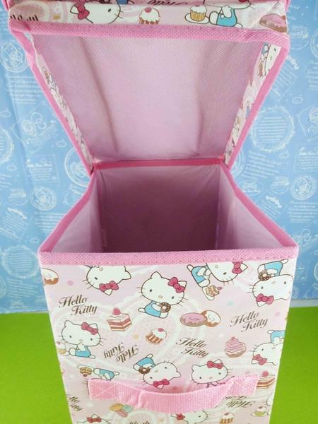【震撼精品百貨】Hello Kitty 凱蒂貓~收納盒-甜點-粉色【共1款】