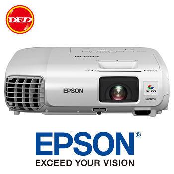 EPSON投影機 愛普生 EB-965H  無線網路教育/商務投影機 送90吋手拉布幕 公司貨 取代EB965