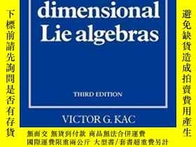 二手書博民逛書店【罕見】 Infinite-dimensional Lie AlgebrasY27248 Kac Cambri