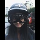 復古盔電動機車頭盔