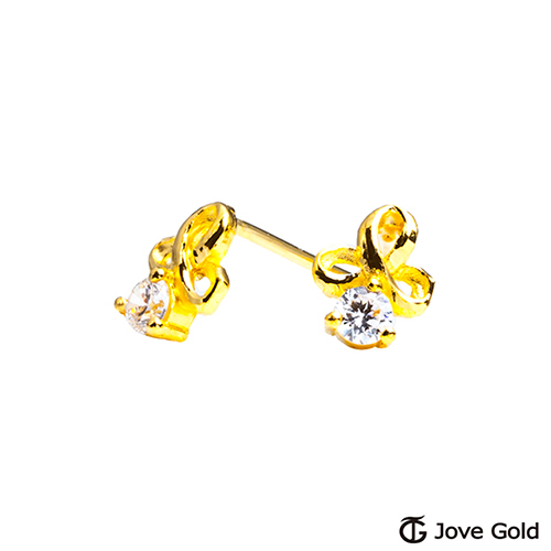 Jove gold 漾金飾 如夢似幻黃金耳環