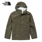 The North Face 男 FUTURELIGHT 防水透氣連帽衝鋒衣 軍綠 NF0A46LB21L【GO WILD】