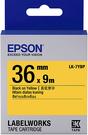 LK-7YBP EPSON 標籤帶 (黃底黑字36mm) C53S657403