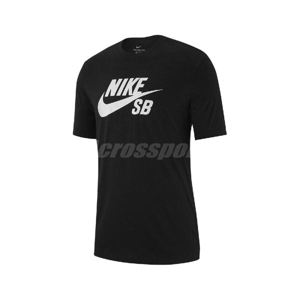 Nike 短袖T恤 SB Dri-FIT Skate Tee 黑 白 男款 運動休閒 【PUMP306】 CW1252-630 AR4210-010