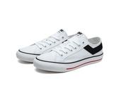 PONY 男 白色基本帆布鞋 -NO.91M1SH02RW