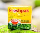 【Freshpak】南非國寶茶(博士茶) RooibosTea 茶包-新包裝(80入*2盒)
