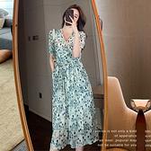 洋裝 法式甜美顯瘦連身裙-媚儷香檳-【D1888】