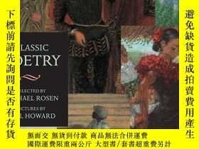 二手書博民逛書店Classic罕見Poetry: Candlewick Illu