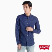 Levis 男女同款 雙面穿襯衫 / 滿版印花