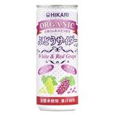 日本光食品 有機微氣泡果汁250ml(259g)-葡萄檸檬[衛立兒生活館]