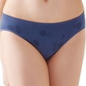 思薇爾-無痕美人系列M-XL素面低腰三角褲(藏藍色)