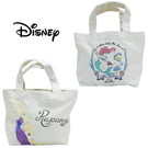 【日本正版】迪士尼公主 帆布 手提袋 便當袋 午餐袋 小美人魚 長髮公主 Disney 220544 220551
