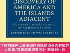 二手書博民逛書店Divers罕見Voyages Touching The Discovery Of America And The