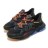 【五折特賣】adidas 休閒鞋 Ozweego AC 黑 綠 紅橘 反光 男鞋 三葉草 聯名款 愛迪達 【ACS】 FX1943