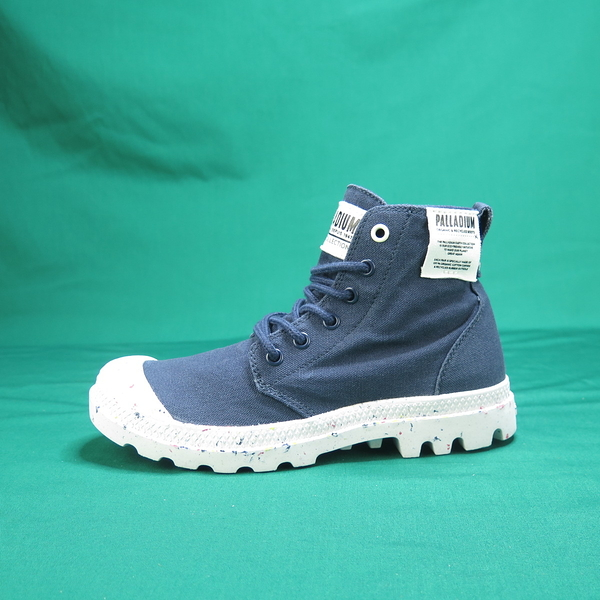 Palladium PAMPA HI ORGANIC 高統靴 正品 96199458 丈青色 女款【iSport愛運動】