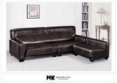 【MK億騰傢俱】BS142-05 大力士台疆鱷皮紋L型沙發