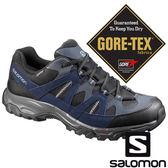 【SALOMON 法國】男 TSINGY GTX 低筒登山鞋『磁石灰幻影灰反射藍』394686 GORE-TEX 越野鞋 登山鞋 健行鞋