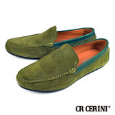 【CR CERINI】英倫風紳士休閒鞋 綠色(80955-GRS)