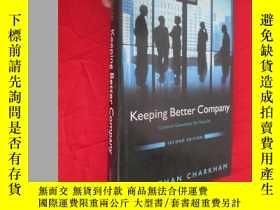 二手書博民逛書店Keeping罕見Better Company: Corporate Governance Ten Years o