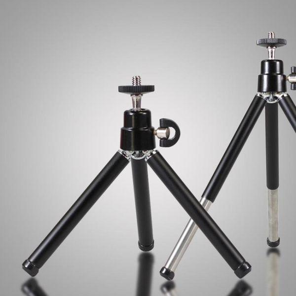 卡賽微型三腳架相機手機架桌面兩節可伸縮支架迷你口袋三角架便攜【全館免運】