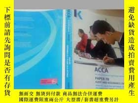 二手書博民逛書店ACCA罕見PAPER F8 AUDIT AND ASSURAN