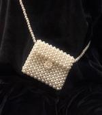 手工包包珍珠包包女2020最新版純手工編織斜挎包ins百搭復古迷你網紅小包 智慧e家