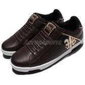 Royal Elastics 休閒鞋 Icon 免鞋帶 懶人鞋 咖啡 黑 金 皮革 運動鞋 男鞋【PUMP306】 02074793