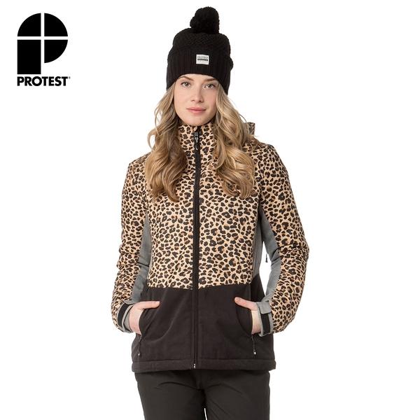 PROTEST 女 機能防水保暖外套 (燕麥色) PEGI SNOWJACKET