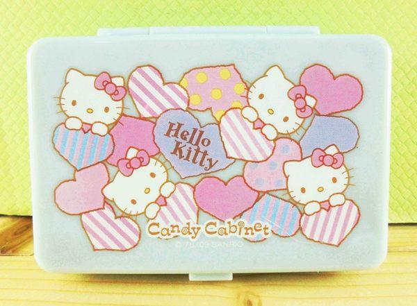 【震撼精品百貨】Hello Kitty 凱蒂貓~KITTY飾品盒附鏡-藍心