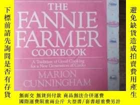 二手書博民逛書店The罕見Fannie Farmer Cookbook【英文原版
