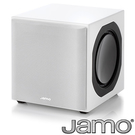 《福利新品》 丹麥JAMO 6.5吋主動式超重低音SUB 800 白色 (拆封品、非展示機)