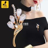 胸花/胸針 胸針胸花女別針配飾日韓國外套大衣時尚奢華可愛大氣學生氣質開衫 卡菲婭