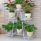 花架 花架子多層室內特價家用陽臺裝飾架鐵藝客廳省空間花盆落地式綠蘿