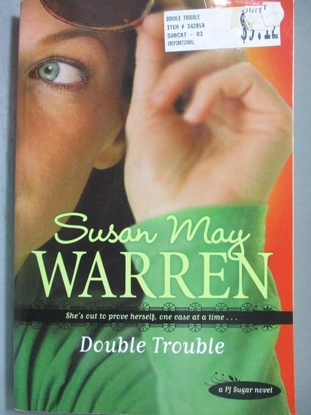 【書寶二手書T5/原文小說_NOS】Double Trouble_Warren, Susan May