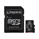 新風尚潮流 金士頓 記憶卡 【SDCS2/128GB-2】 128GB Micro-SD 含 Mini-SD 轉卡