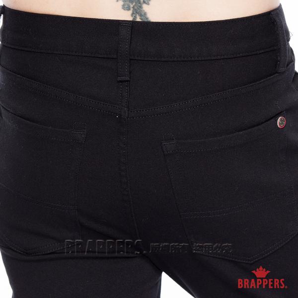 BRAPPERS 男款 HG高腰系列-高腰彈性直筒褲-黑