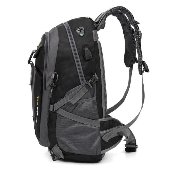 雙肩包男士背包大容量旅行包戶外登山包女輕便旅游行李包休閒書包 3C優購