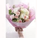 粉玫瑰花禮 真情--情人花束.生日花束.聖誕花束