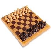 國際象棋磁性棋子兒童小號便攜迷你折疊棋盤學生初學者成人RM