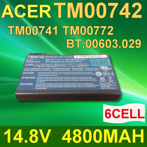 ACER 6芯 TM00742 日系電芯 電池 GRAPE32 GRAPE34 LC..BTP00.006 LIP6232ACPC TM-2007 TM00741 TM00742 TM00772