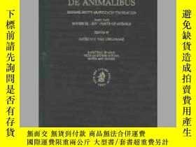 二手書博民逛書店De罕見Animalibus. Michael Scot s Arabic-Latin Translation,