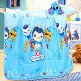 卡通兒童幼兒園夏涼被嬰兒床寶寶夏季午睡空調被絲棉小被子薄被芯   夢曼森居家